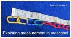 Exploring measurement in preschool by Teach Preschool