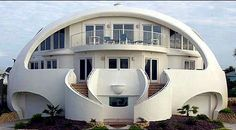 Egg house - Monolithic Domes, Architecture, Florida, United States