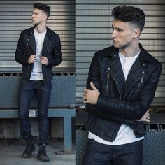 Armani Exchange  Biker Jacket