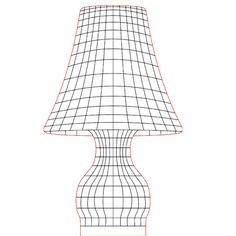 Table lamp 2 3d illusion lamp vector file for CNC - 3bee-studio