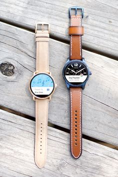 Meet the next generation of Fossil Q ​smartwatches. Q Wander and Q Marshal are smaller and sleeker, so these Android Wear smartwatches​ pack the power you need​ into one versatile, stylish package.