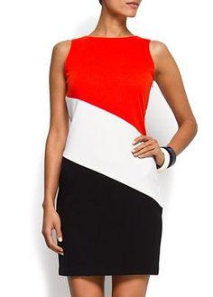 Block print dress - love it!!
