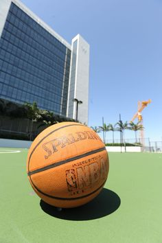 Basketball court at W South Beach