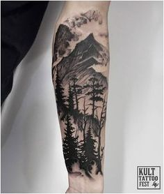 #Tattoo Half sleeve tattoo idea., Click to See More...