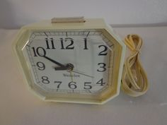 Vintage Westclox Alarm Clock by thingsbybrinda on Etsy
