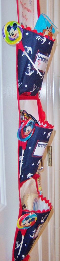 Make your own Fish Extender sewing pattern, great for Disney Cruises. Even has patterns for Fishe Extender Gifts I can make!  Disney Cruise Fish Extender or Wall Organizer by 4girlsdesigns, $5.00