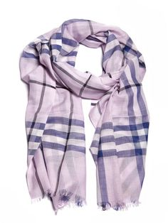 c34355fbe7e22 Burberry Checked Scarf - Orchidea multicolor Checked Scarf