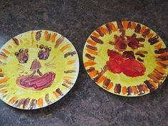 March Lion and Lamb Reversible Paper Plate Craft