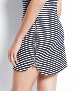 Striped Cotton Swimsuit Cover Up   Ann Taylor