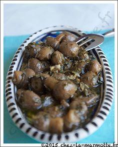 Champignons à la grecque | Marmotte cuisine !