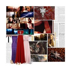 o9 - The Lord of the Rings by alexandrapopplewell on Polyvore featuring Moonar, Phase Eight, Christian Louboutin, Badgley Mischka, eliurpi, Victoria Beckham and OTTO