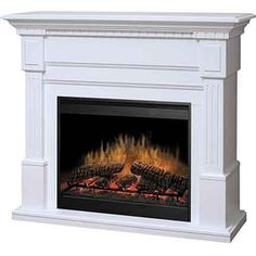 ClassicFlame™ 'Micah' 23'' White Convertible Corner Electric Fireplace - Sears | Sears Canada