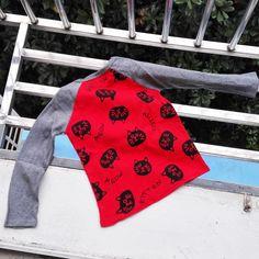 MRJMSL Caliente venta Size100 ~ 140 niños camisetas para chicas de manga larga t shirt otoño primavera cat 2017 en Camisetas Tees de La madre y Los Niños en AliExpress.com | Alibaba Group