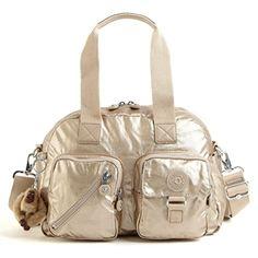 Kipling Defea Handbag Toasty Gold