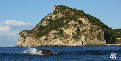 Sea In Paleokastritsa, Lion head mountain