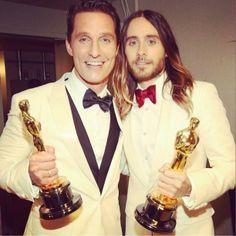 Oscar Love: Dallas Buyers Club wins, Jared Leto