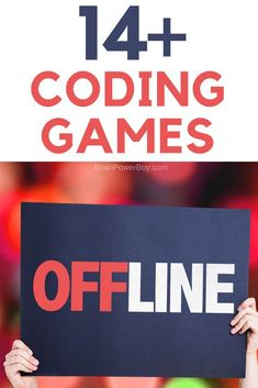14 coding games to learn to code offline. Awesome for teachers in the classroom as well as homeschoolers and after-schoolers. Kids really can learn to code offline and it is actually the best way for them to begin to learn about coding. Activities For Boys, Learning Activities, Steam Activities, Coding For Kids, Programming For Kids, Learn To Code, Computer Science, Computer Lab, Computer Coding