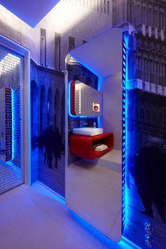 Futuristic Interior, Town @ House Street 8 Milans Four Boutique Hotel Suites Boasting Incandescent Design
