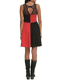 HOTTOPIC.COM - DC Comics Harleen Harley Quinn Mesh Dress