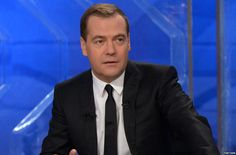 """Russian Prime Minister Dmitry Medvedev has described the recent visits of European Union officials to restive Ukraine as """"crude interference..."""