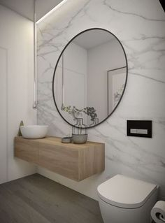Contemporary Design Marble + Wood
