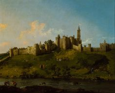 GIOVANNI ANTONIO CANALETTO, Alnwick Castle © Collection of the Duke of Northumberland, Alnwick Castle / Syon House