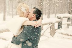 California Winter Wedding, photographed by Jennifer Eileen…