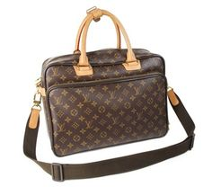 Louis Vuitton Monogram Icare Travel Laptop Laptop Bag. Carry your laptop in style! The Louis Vuitton Monogram Icare Travel Laptop Laptop Bag is a top 10 member favorite on Tradesy. Save on yours before they're sold out!