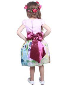 0ccceaa4c9 Vestido My Little Pony Infantil Festa Tam. 01 ao 14. - Tia Gina Vestidos