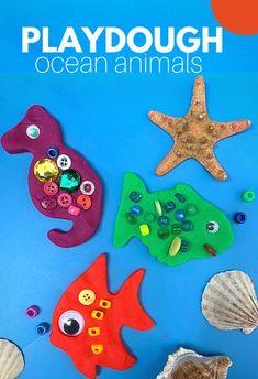 Fine Motor Activities For Kids, Ocean Activities, Sorting Activities, Animal Activities, Creative Activities, Kids Learning, Learning Activities, Learning Skills, Educational Activities