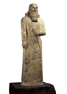 Ashurnasirpal, King of Neo-Assyria, reigned 883-859 B.C.E., from Nimrud, ancient Kalhu Tmple of Ishtar Sharrat-Niphi,    The British Museum, London