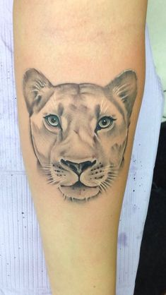 small lioness tattoo - Google Search