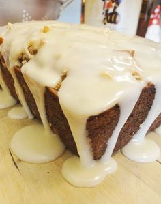 Pina Colada Banana Bread with a Buttered Rum Glaze