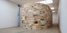 Phoebe Washburn, udstiilingsview, Kunsthallen Brandts. (Foto: Torben Eskerod)