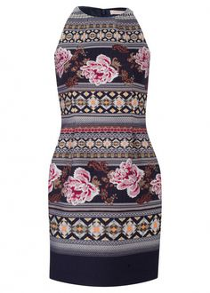 Floral Folk Mini Dress by Matthew Williamson