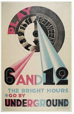 Play Between 6 And 12, The Bright Hours. Go By Underground