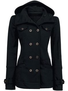 Hooded Double Breasted Women's Trench Coat - Charlott Theory Fashion. 2012 Nordstroms This could be a coat that I could put the fur on for the DHgate coat.