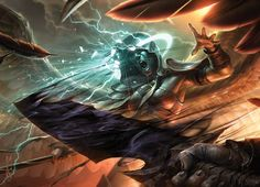 Doom Blade MtG Art by Raymond Swanland
