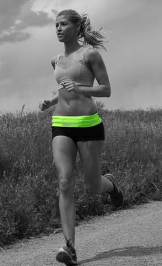 Running is easy with the perfect accessory!   FlipBelt