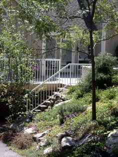 Peaceful outdoor escape with Durarail White Welded Picket Rail