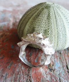 Sterling Silver Crystal Ring Statement Ring US size 7