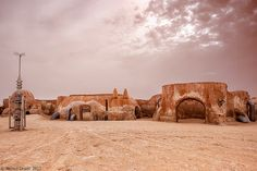 "Matamta, Tuneisa   AKA Mos Eisley Spaceport, Tatooine as seen in ""Star Wars"""