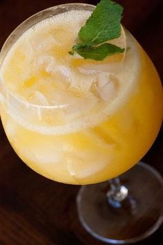 Yumm. Peach wine cooler...fresh peaches, peach schnapps, pinch of kosher salt, and Pinot Grigio or Sauvignon Blanc and ice. Meet me poolside and I'll have them ready! by TamidP