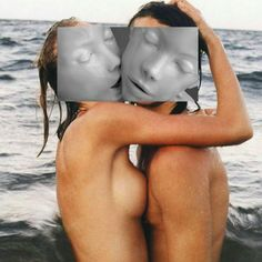 Imaginative Collages By Naro Pinosa Face Collage, Collage Drawing, Collage Art, Photomontage, Nude Photography, Fine Art Photography, Collages, Kids In Love, Street Art