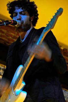 "by brendancoreyb ""Patrick Krief of The Dears"" #thedears #krief #concert #music #guitar #brendancoreyb"