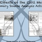 $1 Use this Primary Source Analysis Activity to address the CCSS while helping your students gain a better understanding of the Costs of the Civil War...