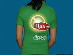 https://flic.kr/p/zRwwhB | Panama Me | Customized Ladies Polo T-Shirts with Lipton Clear Green Tea branding were produced for their Promoters. The logo was screen printed on the front LHS Chest & the back of the T-Shirts. More Information Visit The Website www.panama-me.com