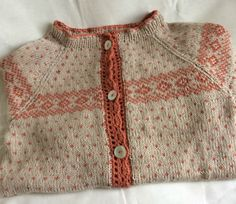 En deilig kofte strikket av Line garn. Instämmer!