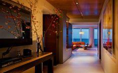 MIAMI BEACH OCEANFRONT RESIDENCE - contemporary - hall - miami - Michael Wolk Design Associates