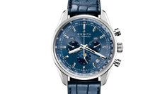 Zenith El Primero 410 Tribute to Charles Vermot | 14 Prime Examples of the Blue Trend in Watchmaking